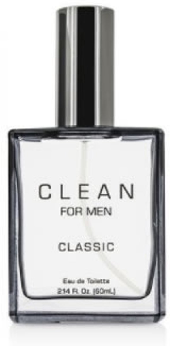 MULTI BUNDEL 3 stuks Clean For Men Classic Eau De Toilette Spray 60ml