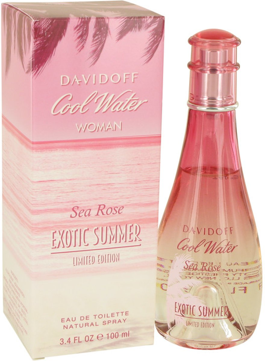 Davidoff Cool Water Sea Rose Exotic Summer EDT 100 ml