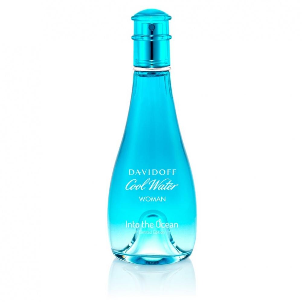 Davidoff Cool Water Woman Into the Ocean Eau de Toilette Spray 100 ml