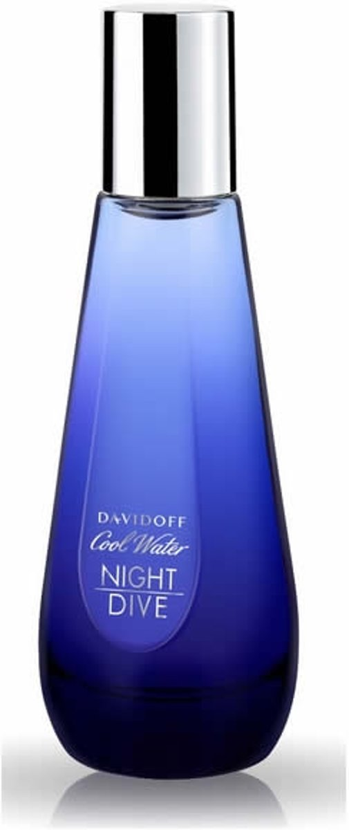 MULTI BUNDEL 2 stuks Davidoff Cool Water Night Dive Eau De Toilette Spray 50ml