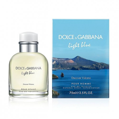 Dolce & Gabbana Light Blue Discover Vulcano eau de toilette 75 ml