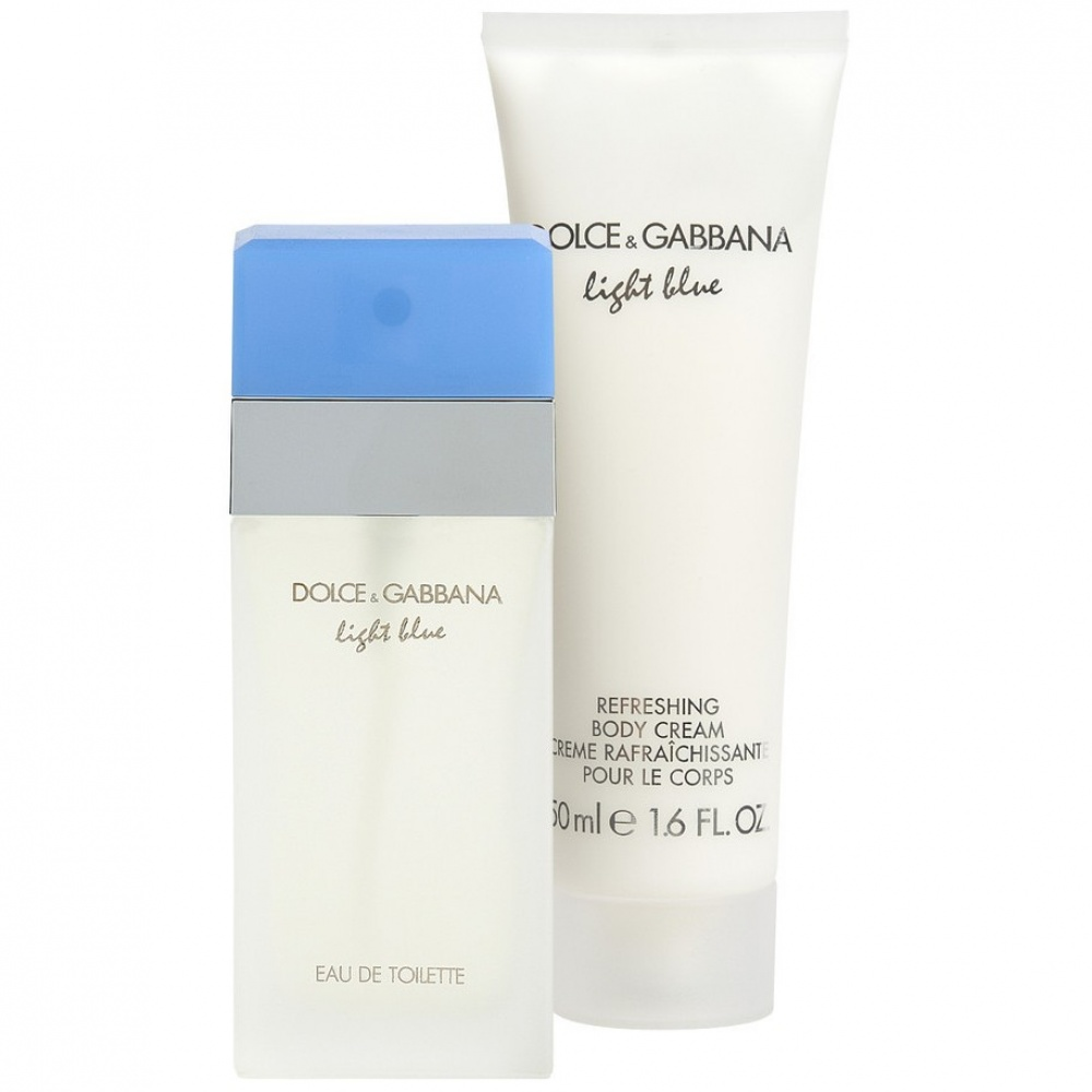 Dolce & Gabbana Light Blue EdT & Bodylotion Giftset Eau de Toilette 25 ml, Bodycrème 50 ml