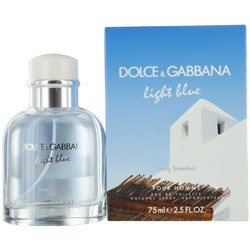 Dolce & Gabbana Light Blue Living Stromboli eau de toilette 75ml