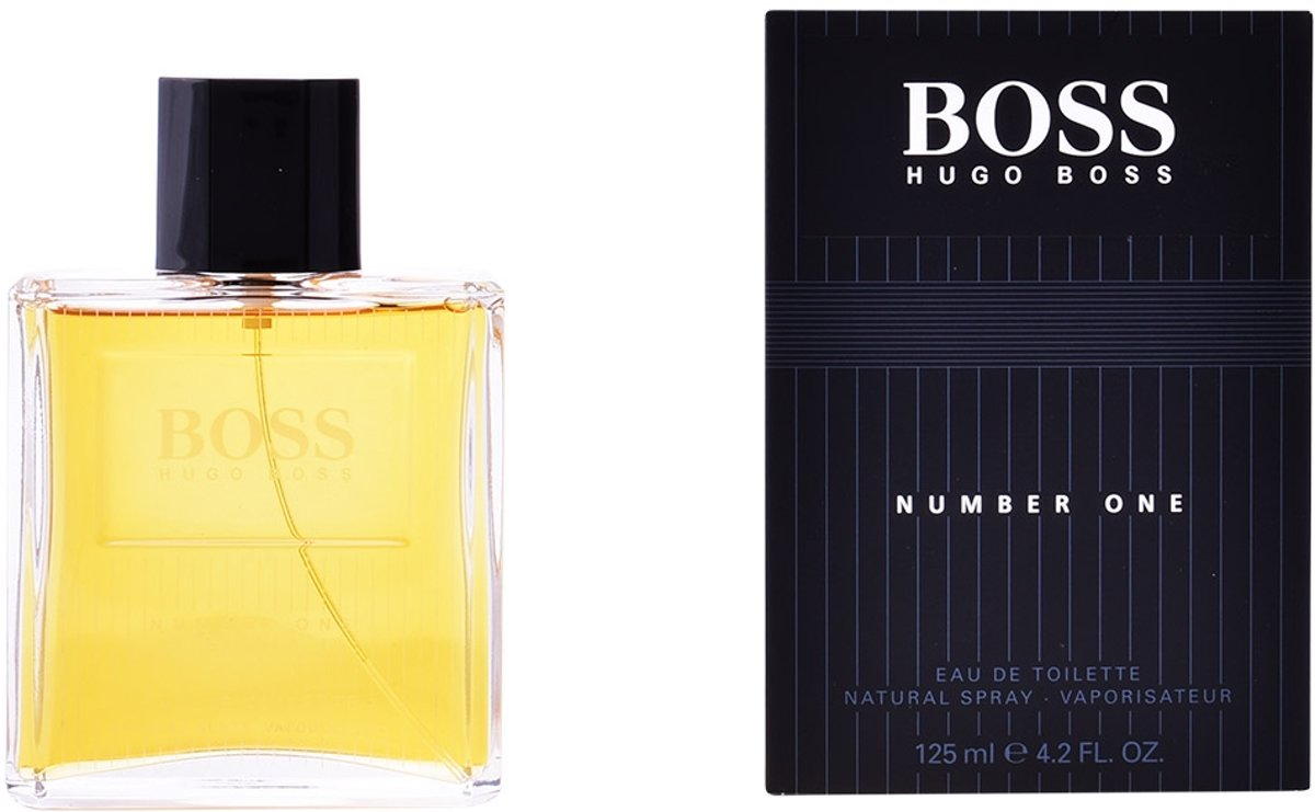 MULTI BUNDEL 2 stuks Hugo Boss Boss Number 1 Eau De Toilette Spray 125ml