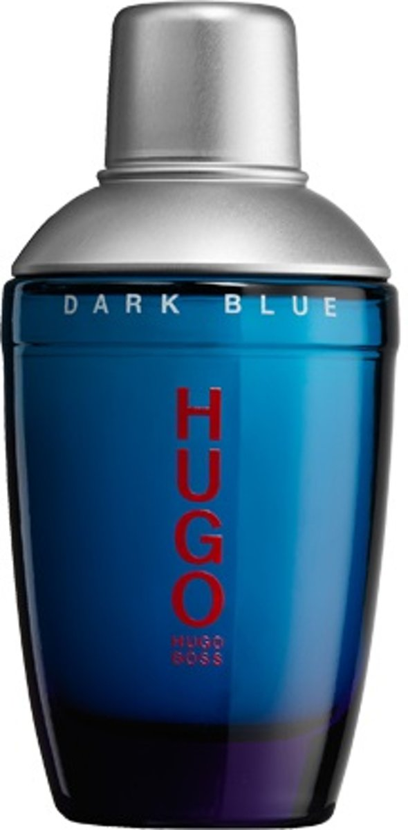 MULTI BUNDEL 3 stuks Hugo Boss Hugo Dark Blue Eau De Toilette Spray 75ml