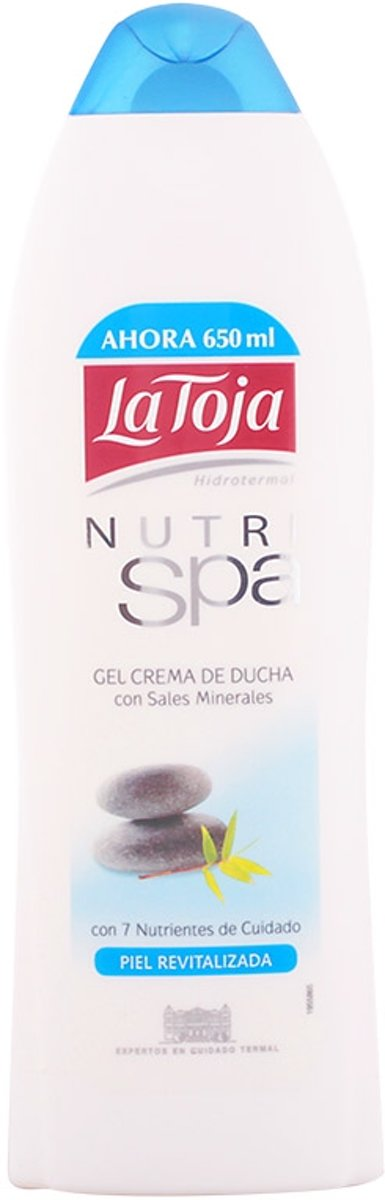 MULTI BUNDEL 5 stuks La Toja Nutri Spa Shower Gel 650ml