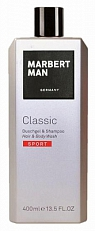Marbert Man Classic Sport Hair And Body Wash 400ml