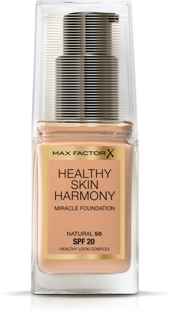 Max Factor Healthy Skin Harmony Foundation - 50 Natural