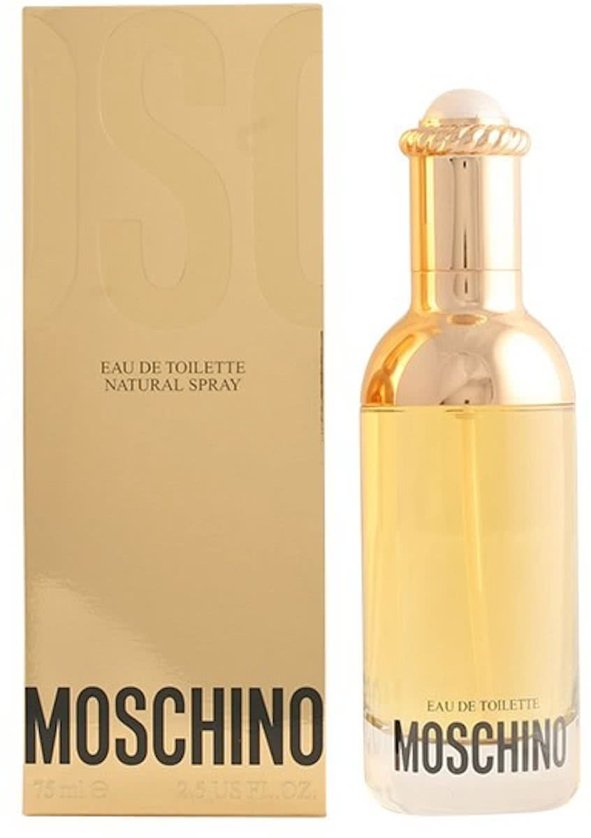 PROMO 2 stuks MOSCHINO eau de toilette spray 75 ml