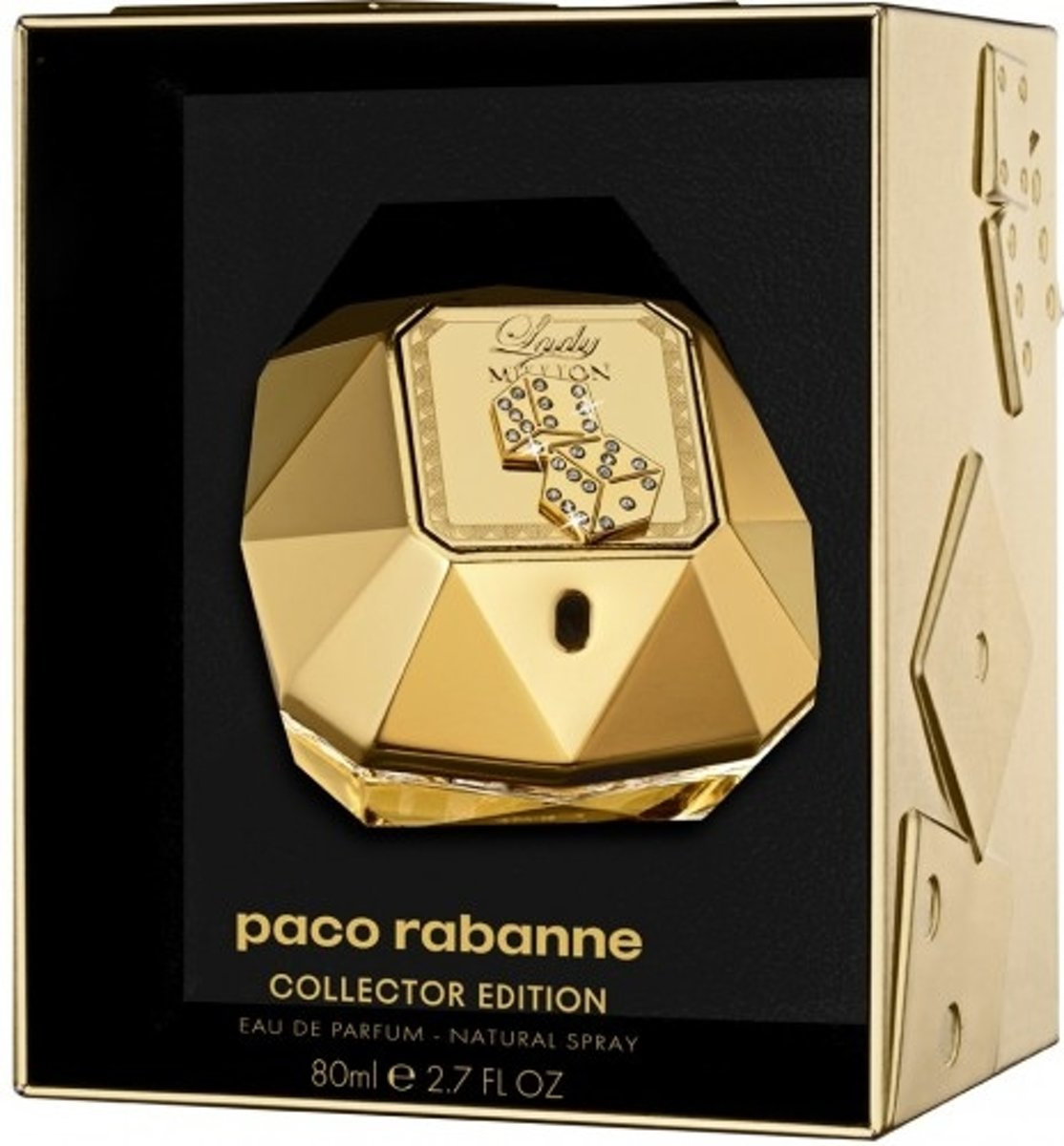 collectors edition monopoly Paco lady million collectors edition monopoly edp 80 ml spray
