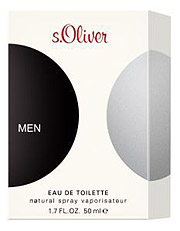 S. Oliver Man Eau De Toilette Natural Spray 50ml