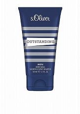 S. Oliver Outstanding Men Shower And Shave Shampoo 150ml