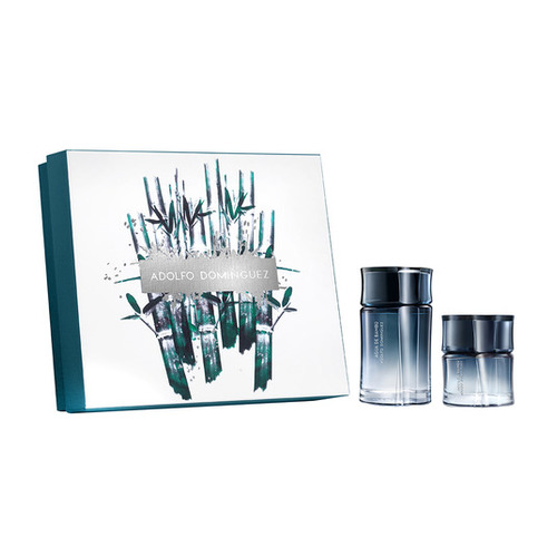 Adolfo Dominguez Agua De Bambu for men gift set 120 ml eau de toilette + 60 ml eau de toilette