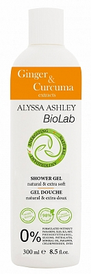 Alyssa Ashley Biolab Ginger And Curcuma Showergel
