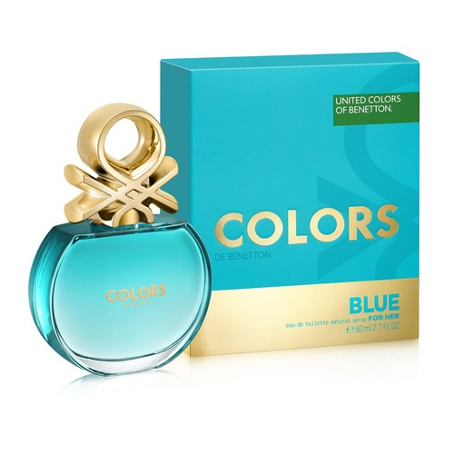 Benetton Colors de Benetton Blue for woman eau de toilette 80 ml
