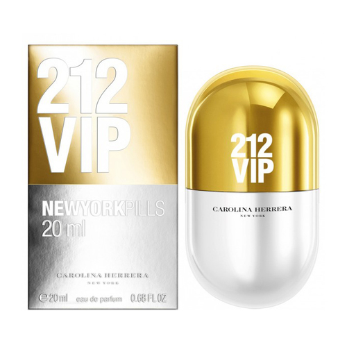 Carolina Herrera 212 Vip New York Pills eau de parfum 20 ml