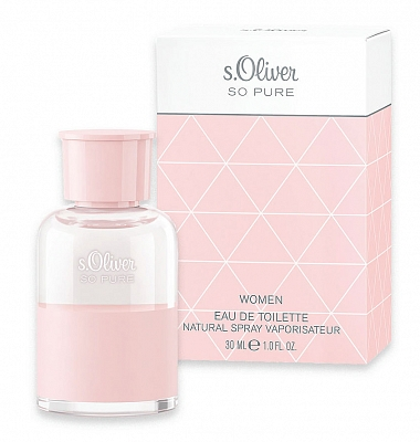 S. Oliver So Pure Women Eau De Toilette Spray