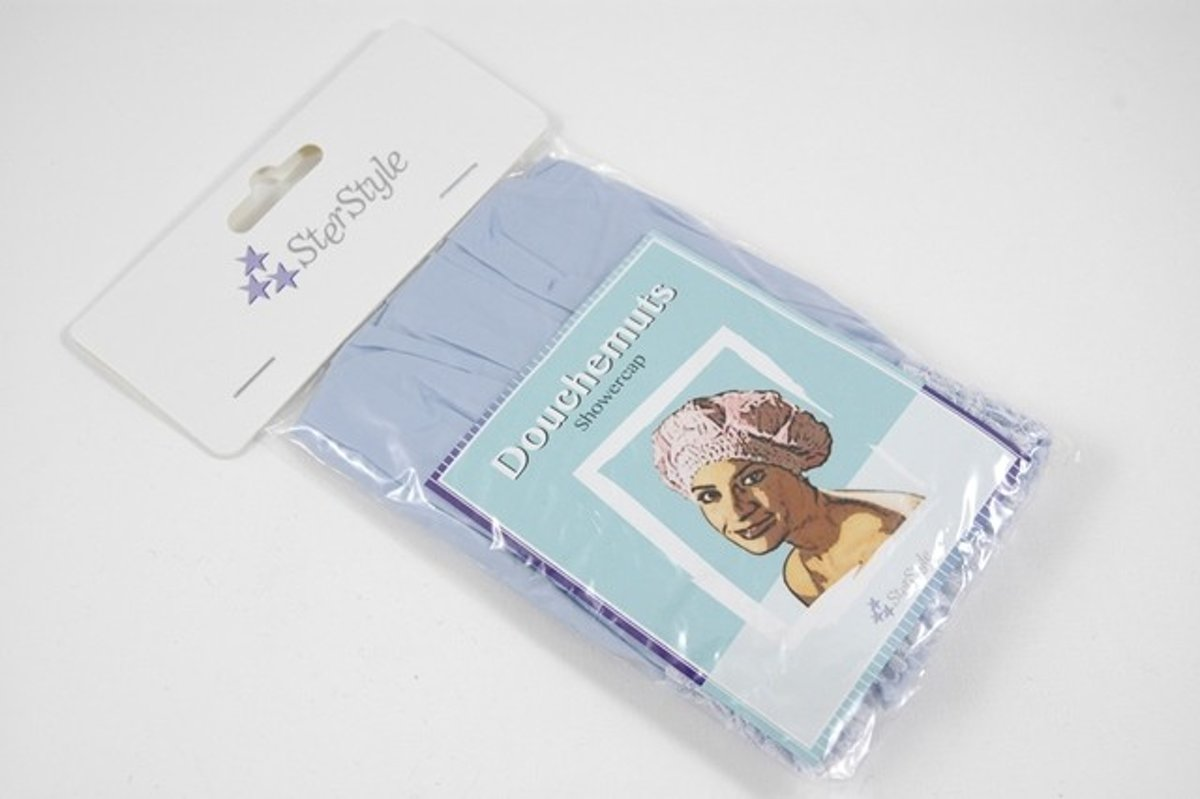 Ster Style Shower Cap With Lace Trim